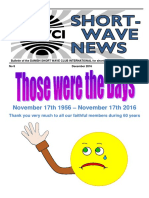 DSWCI Short Wave News Last Issue