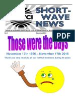 DSWCI Short Wave News Last Issue