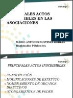 16.02 Actos Inscribibles-Asociaciones