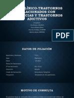 CASO CLÍNICO-Trastornos relacionados con.pptx