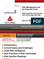 AuditNet Fulcrum April 23 Presentation - 042309