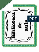 Material Biblioteca Aula