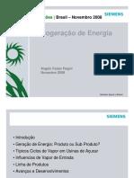 SIEMENS - Cogeração de Energia Etanol e Açucar