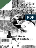 Borja j y Castells m Local y Global La Gestic3b3n de Las Ciudades en La Era de La Informacic3b3n