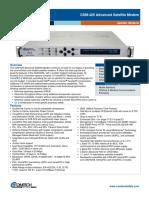 Comtech/EFData CDM-425 Satellite Modem Data Sheet