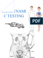Urodynamic Testing Report