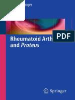 Ebringer Rheumatoid Arthritis and Proteus 2011