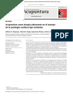 Patología Tipo Arritmia Tratada Con Acupuntura