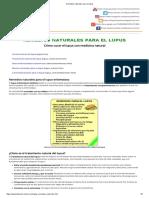 Remedios Naturales Para El Lupus