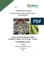 Doc, Alianza Vas-0610!1!324-2 Iscayachi Haba Seca
