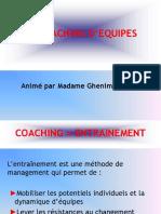 Le Coaching d'Equipes