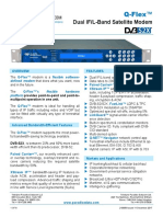 Paradise Datacom Q-Flex IP Satellite Modem Data Sheet 210058 12-11-2017