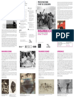 Programa de Mano MNAC Insurrecciones Didi-Huberman