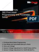XAAR Print Head Programming and Parameter Setup 10602