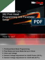 XAAR Print Head Programming and Parameter Setup 10602