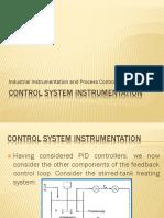 Control System Instrumentation