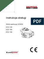 Instrukcja Obslugi Gcv135 160 190