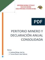 Petitorios y Concesiones Mineras