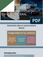 Robo Al Autotransporte Federal Solución.