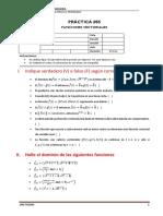 Funciones vectoriales Práctica