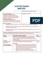 clinical lesson plan final  3