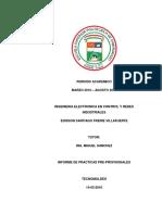 Informe Edisson