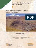 Hoja Geol_2366-I-III Mina Pirquitas
