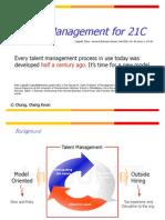(HBR)Talent Management for 21C_cck21c