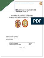 Universidad Nacional de San Antonio Abab Del Cusco