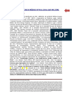 Informe Técnico Médico 16 2016