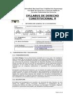 Syllabus Derechos Constitucional II 2017 Moderno-1