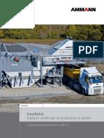 Ammann Impianti Produzione Asfalto EasyBatch It