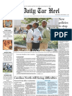 The Daily Tar Heel for September 1, 2010