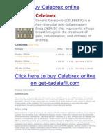 Buy Celebrex Online