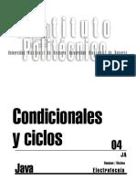 Capítulo 05 (Condicionales y Ciclos)