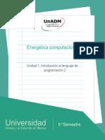 Unidad1IntroduccionallenguajedeprogramacionC