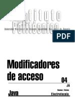 Capítulo 08d (Modificadores de Acceso)