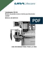 Ventilador AV-S Manual de Servicio