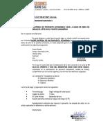 Carta Propuesta