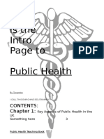 Public Health Teaching Book (40 Pages)