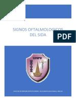 Signos Oftalmológicos Del SIDA.