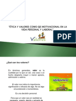 Manual Etica y Valores Diapositivas