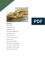 Pizza Enrolada Receita