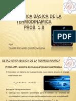 Problema 1.8_presentacion .Mecanica Estadistica.