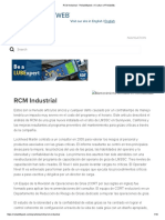 RCM Industrial - Reliabilityweb_ a Culture of Reliability