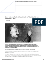 Como ensinar a Teoria da Relatividade de Albert Einstein para crianças de 6 anos - BBC Brasil