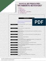 Manual de Psiquiatría de Rotondo