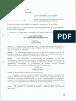Loi 2009 09 Protection Des Donnees Personnelles Benin