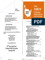 Cover - NFEAS, 35 (1,2,3) 2018 - William Allan Kritsonis, PhD, Editor-in-Chief, NATIONAL FORUM JOURNALS (Founded 1982)