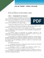 7 - Procedimento de Trabalho - 39 Páginas